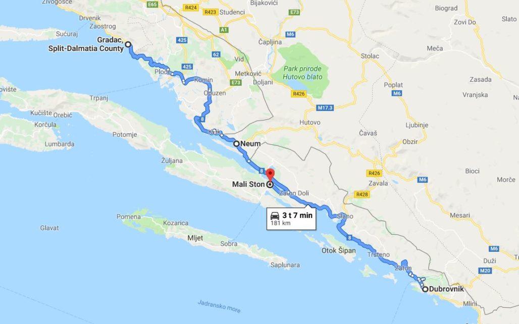 Kroatia Autoilu Dalmatian Rannikolla On Huippujuttu Appamatkustaa