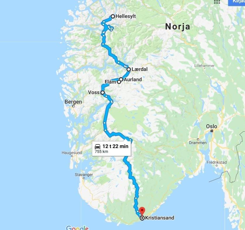 Norja Kasittamattoman Kaunis Maa Osa 3 Geirangerista