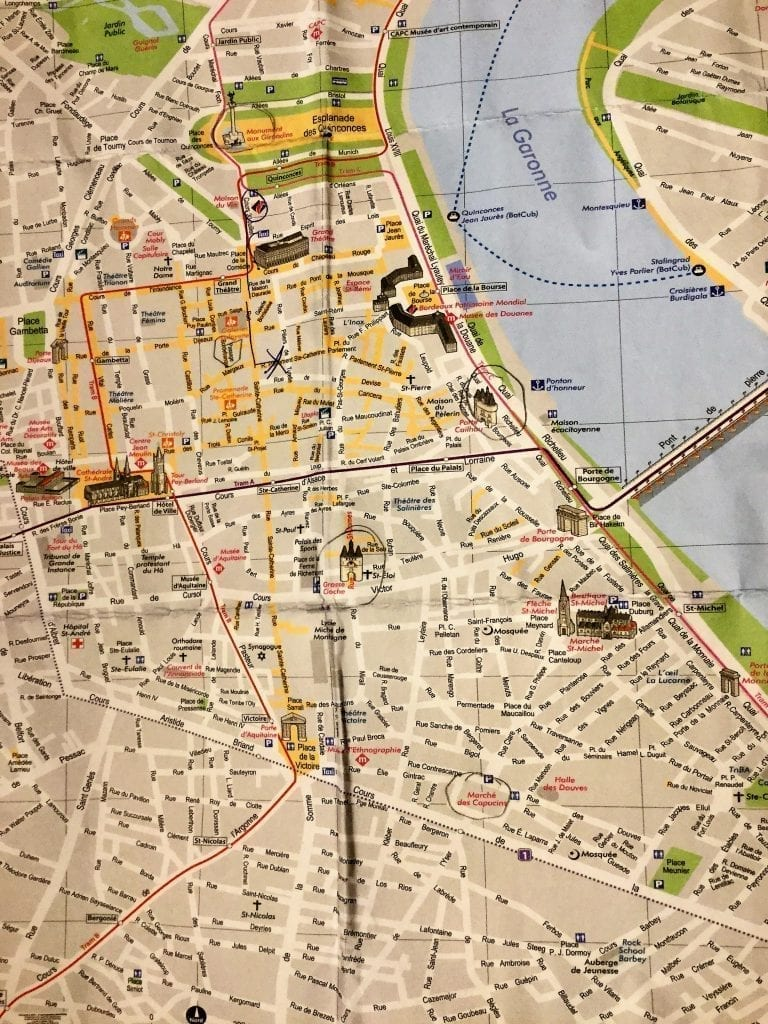 Bordeaux Huikean Viinialueen Upea Keskus Appamatkustaa