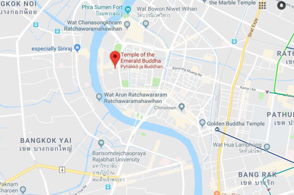 Onko Suuri Palatsi Ja Wat Phra Kaew Bangkokin Ykkospaikka